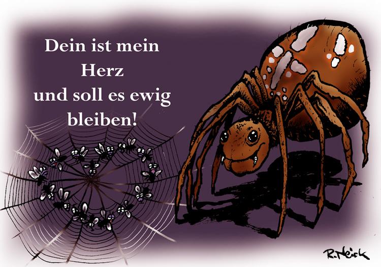 Dein ist mein Herz - Spinne