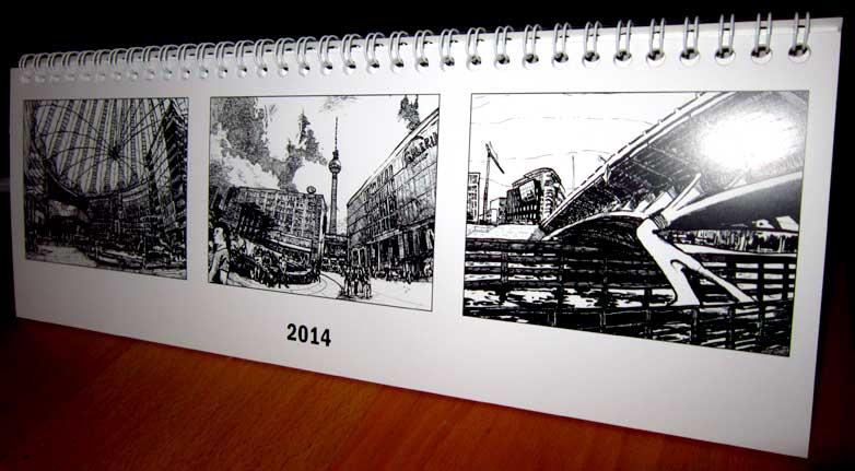 Berlin Noir Kalender